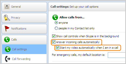 skype, call, call automatic