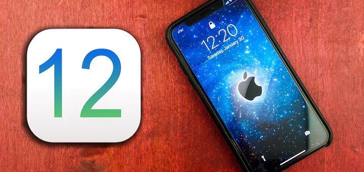 ios 12, ios aktualizacia, iphone