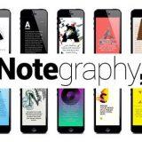 notegraphy, programa, redaktirane, snimka, tekst