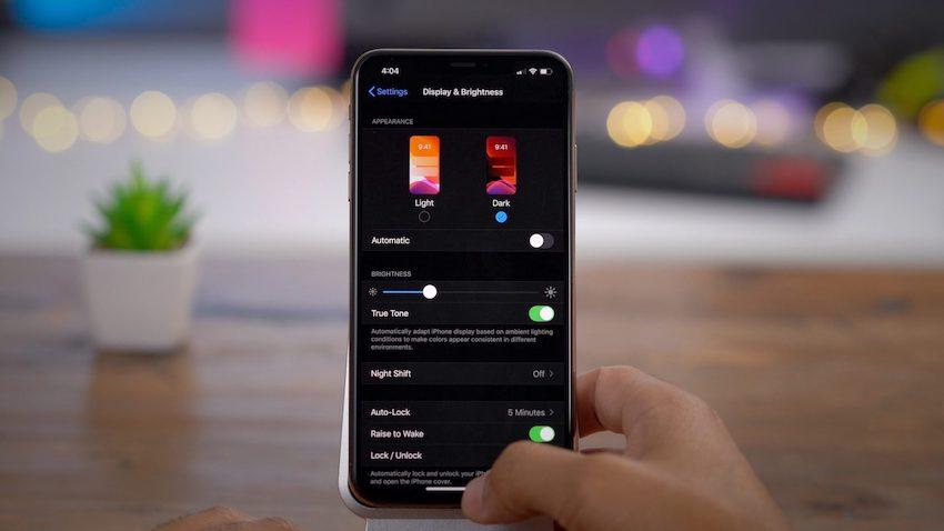 iphone 11 nastroiki