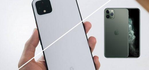 iphone 11 pro max , google pixel 4xl