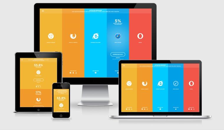 mobilen dizayn web
