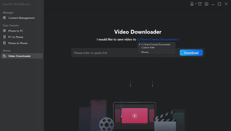 easeus mobimover pro video